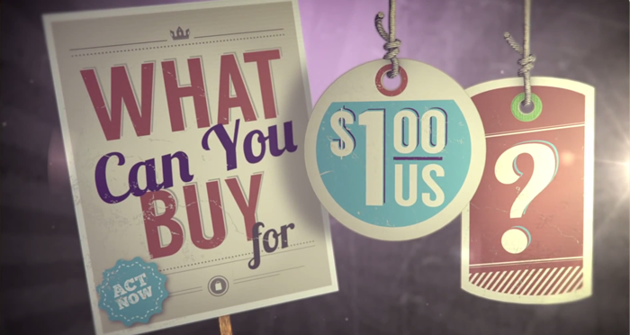 What Can You Buy For $1 Dollar?