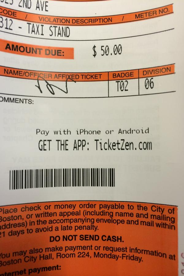 City of Boston will let you pay parking tickets with your smartphone