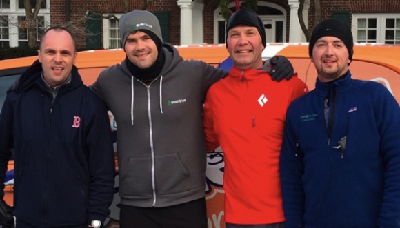 Meet the four tech-company founders running their first marathon for local charities
