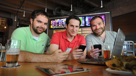 Big companies seeing big business in DraftKings' online fantasy sports games