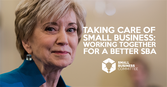 Taking Care of Small Business: Working Together for a Better SBA